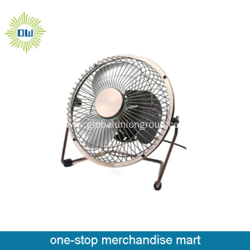 Portable Metal Mini Fan rechargable